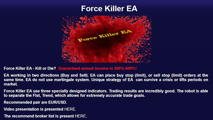 Force Killer EA